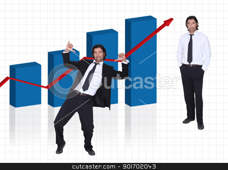 Successful salesman stock photo, Successful salesman by photography33