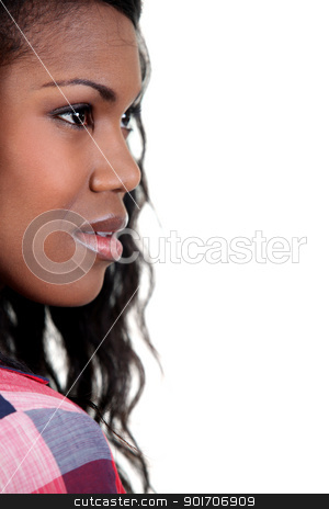 beautiful black woman stock photo, beautiful black woman by photography33