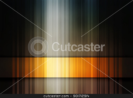 Gold band stock vector clipart, Abstract editable vector background of a golden stripe made using gradient meshes by Robert Adrian Hillman
