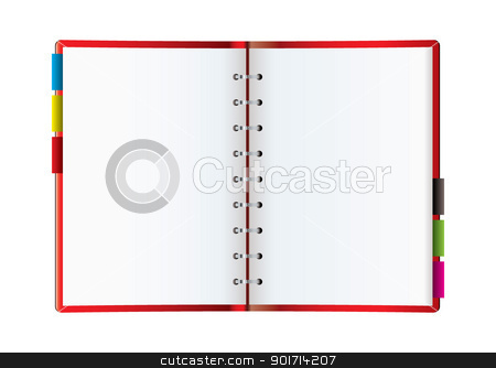 Organizer web blog stock vector clipart, Background for a web blog with room to add your own text by Michael Travers