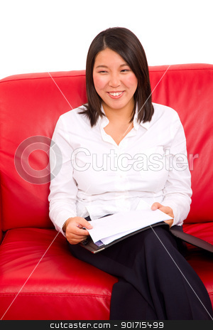 asian businesswoman stock photo, asian businesswoman by ambrophoto