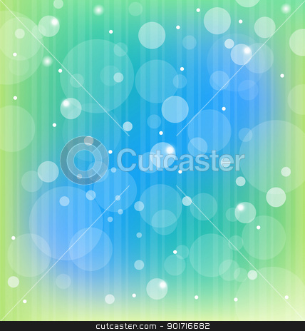 Colorful bokeh abstract light background stock vector clipart, Illustration colorful bokeh abstract light background - vector by -=Mad Dog=-