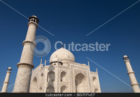 Taj Mahal stock photo, Taj Mahal,Agra,Uttar Pradesh,India by szefei