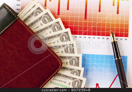 Business and money concept stock photo,  by fikmik