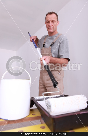 Painter stock photo, Painter by photography33