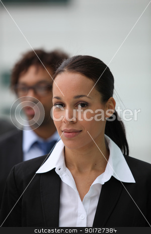 Female business executive stock photo, Female business executive by photography33