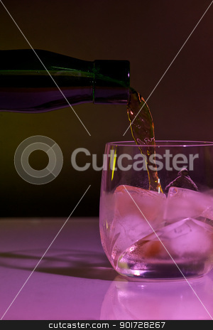 Whiskey stock photo, A drink for relaxing by Matthias Krapp