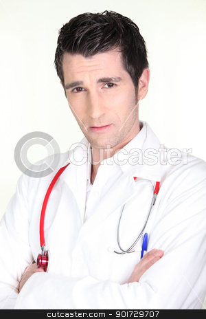 Arrogant doctor stock photo, Arrogant doctor by photography33