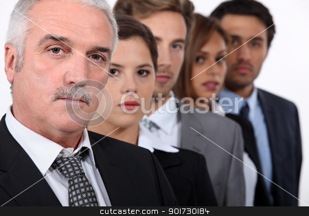 The business team. stock photo, The business team. by photography33