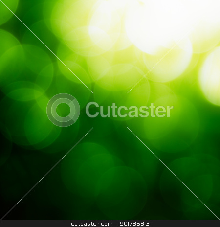 Square Green Bokeh Background. stock photo, Square Green Bokeh Background. by pashabo