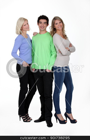 Man with women stock photo, Man with women by photography33