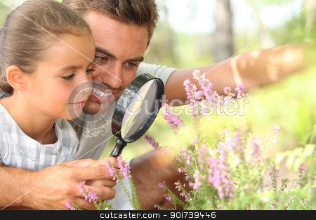 Father and daughter stock photo, Father and daughter by photography33