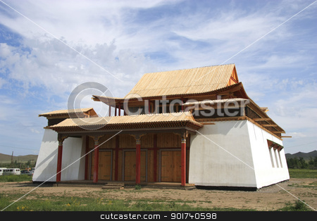 Buddhist  monastery. stock photo, Buddhist  monastery.  by Yury Ponomarev