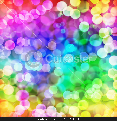 Magical light. stock photo, Abstract glowing colorful magical neon light background. by szefei