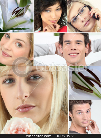 Collage of relaxation stock photo, Collage of relaxation by photography33