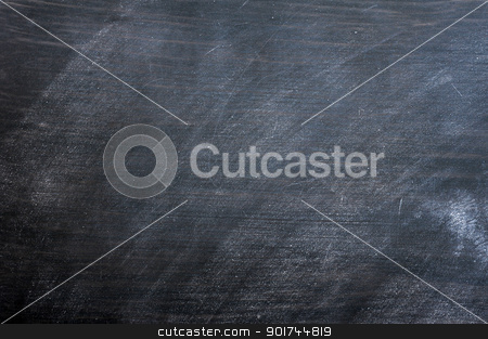 Blank smudged blackboard stock photo, Blank smudged blackboard background for text writing and design by John Young