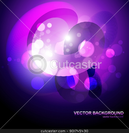 vector fantasy eps10 design stock vector clipart, fantasy style purple color eps10 vector backgrpund design by pinnacleanimates