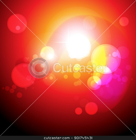 stylish orange color eps10 vector stock vector clipart, stylish glowing orange color eps10 design by pinnacleanimates