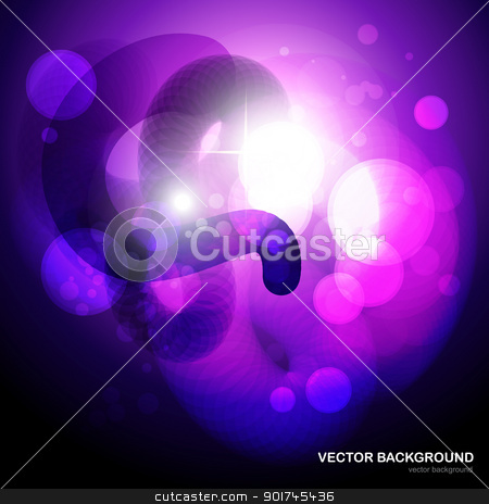 vector fantasy eps10 background stock vector clipart, fantasy style purple color eps10 vector backgrpund by pinnacleanimates
