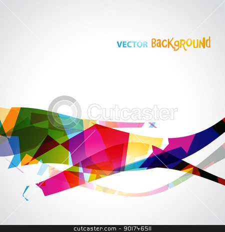 stylish eps10 wave stock vector clipart, stylish colorful vector wave. eps10 design by pinnacleanimates