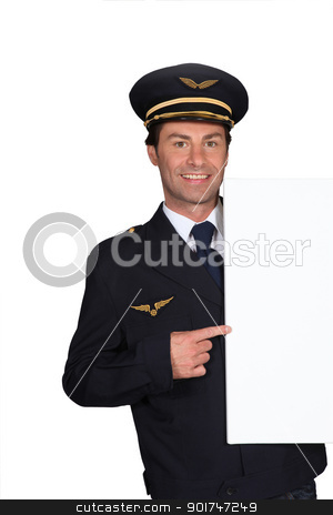 man in pilot uniform stock photo, man in pilot uniform by photography33