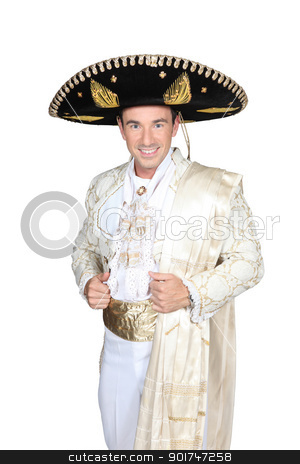 Man dress in bullfighter costume stock photo, Man dress in bullfighter costume by photography33