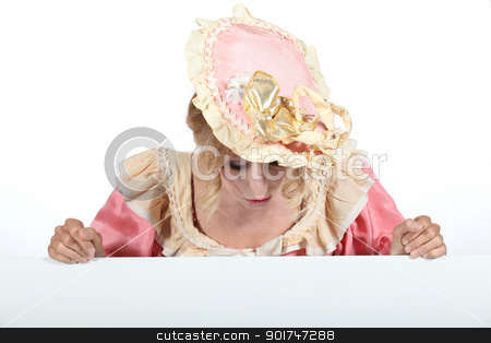 portrait of a woman in costume stock photo, portrait of a woman in costume by photography33