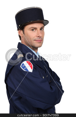 French policeman stock photo, French policeman by photography33