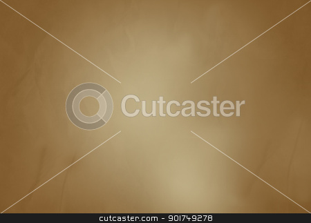 Old brown paper background stock photo, Old brown paper background with textured effect and copy space. by Martin Crowdy