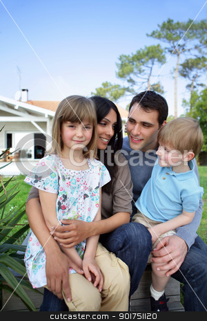 Family portrait stock photo, Family portrait by photography33