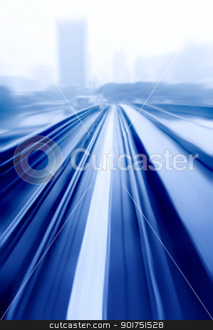 speedway  stock photo, Abstract speedway with motion blur  by szefei