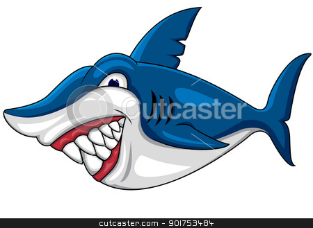 Angry shark clipart - photo#5