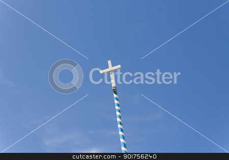 Cross: symbol of Christ stock photo, Cross: symbol of Christ by Sacha Ferrarelli
