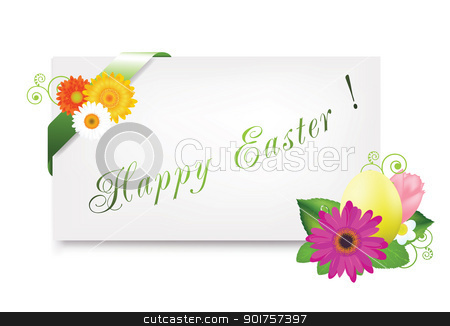 Happy Easter stock photo, Nice combinations for your happy Easter design by Diana