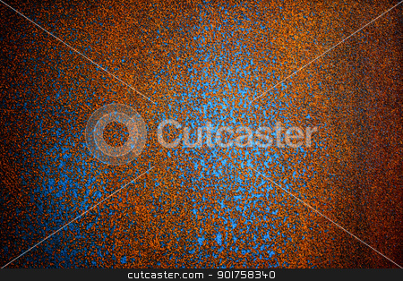 Rust texture of metal wall  stock photo,  by kongsky