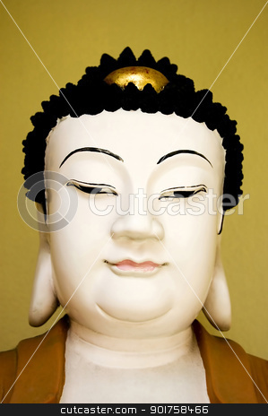 buddha face  stock photo, buddha face  by szefei