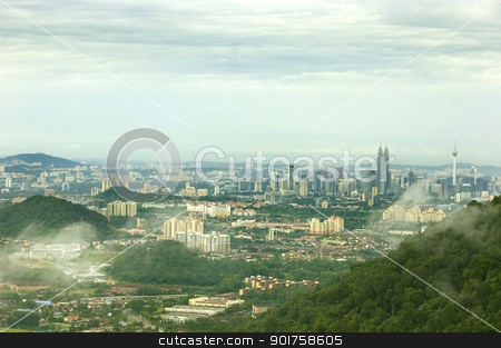 Kuala Lumpur City View  stock photo, Kuala Lumpur City View  by szefei