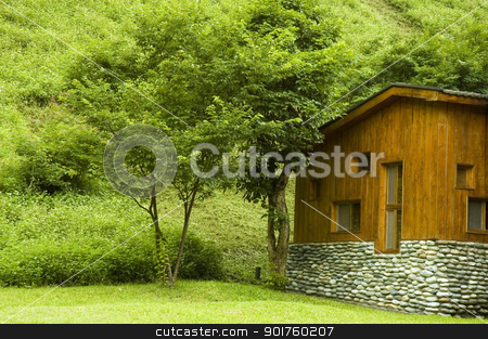 country house stock photo, country house by szefei