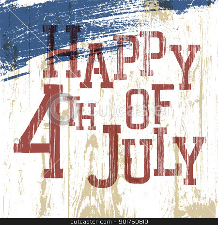 4th July Poster. Vector, eps10 stock photo, 4th July Poster. Vector, eps10 by pashabo