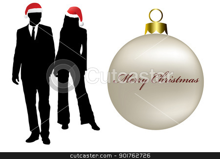 Merry Christmas stock photo, Merry Christmas for everyone by Diana