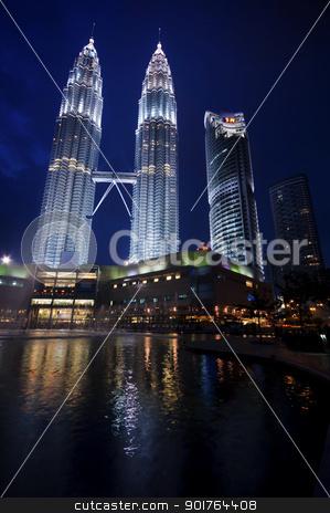 Kuala Lumpur. stock photo, Kuala Lumpur is the capital city of Malaysia. by szefei