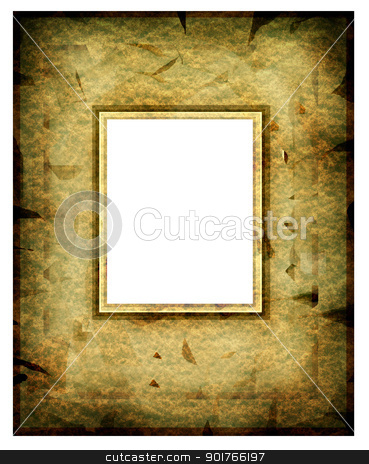 Photo frame stock photo, Old fashion abstract photo frame by Janaka Dharmasena