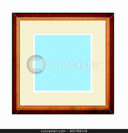 Picture Frame  stock photo, Picture Frame with mount by Janaka Dharmasena
