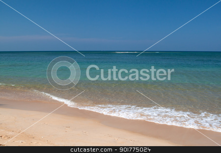 Beach in eastern Thailand  stock photo, Beach in Andaman sea eastern Thailand by Ekkapon