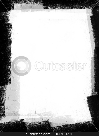 Grungy Black and White Space stock photo, Grungy Black and White Space by HypnoCreative