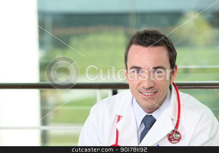 Hospital doctor stock photo, Hospital doctor by photography33