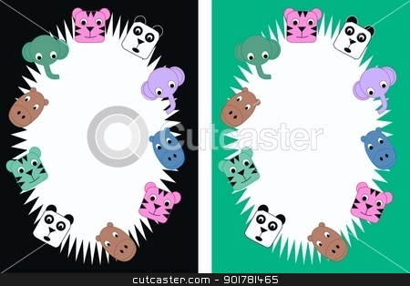 celebration or tag label stock vector clipart, celebration or tag label by Popocorn