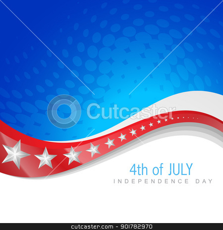 4th of july independence day stock vector clipart, vector 4th of july independence day design art by pinnacleanimates