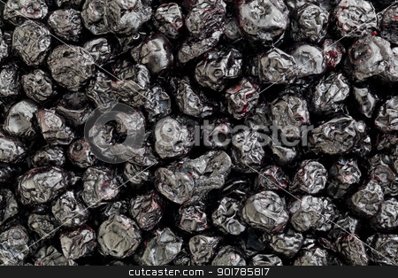 dried blueberry stock photo, background and texture of dried organic blueberry berries by Marek Uliasz