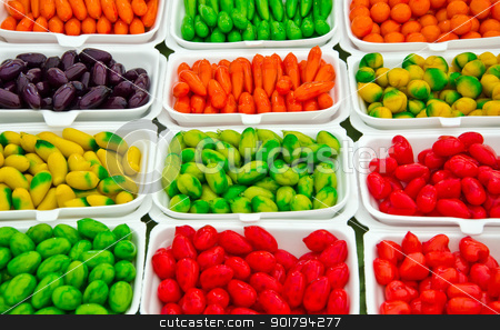 The Dessert of thai style  stock photo, The Dessert of thai style made of nut and look like fruits by krajidrid